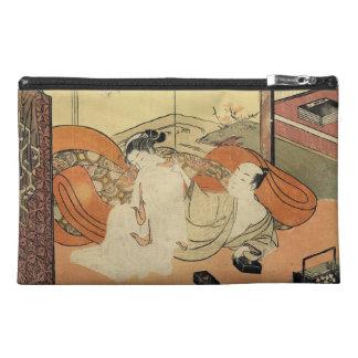 クラシックなヴィンテージの日本のukiyo-eのoiranの芸術 トラベルアクセサリーバッグ