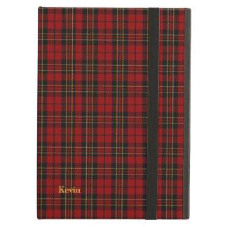クラシックな一族のBrodieのタータンチェック格子縞のiPadの空気箱 iPad Airケース