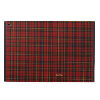 クラシックな一族のBrodieのタータンチェック格子縞のiPadの空気2箱 Powis iPad Air 2 ケース