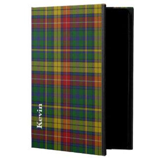 クラシックな一族のBuchananのタータンチェック格子縞のiPadの空気2箱 Powis iPad Air 2 ケース