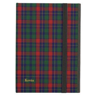 クラシックな一族のKilgourのタータンチェック格子縞のiPadの空気箱 iPad Airケース