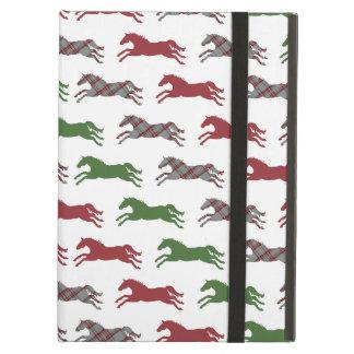 クラシックな乗馬のクリスマス iPad AIRケース