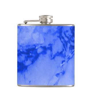 クラシックな優雅の贅沢で深く青い大理石の石 フラスク