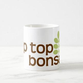 クラシックな先端の上の盆栽のコーヒー・マグ コーヒーマグカップ