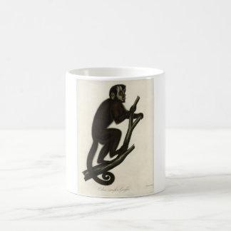 クラシックな動物学のエッチング- Capuchin猿 コーヒーマグカップ