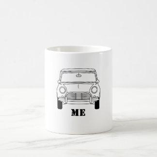 クラシックな小型私デザイン コーヒーマグカップ