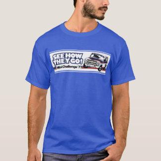 クラシックな小型1275GT競争 Tシャツ