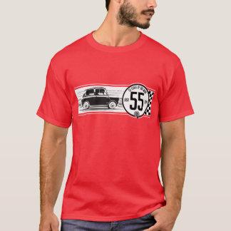 クラシックな小型55の記念日のTシャツ Tシャツ