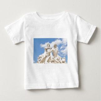 クラシックな建築 ベビーTシャツ