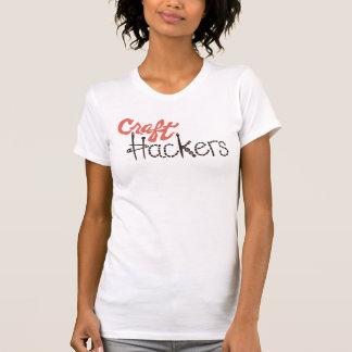クラシックな技術のハッカーのTシャツ Tシャツ