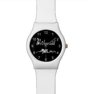 クラシックな新婦付添人 腕時計