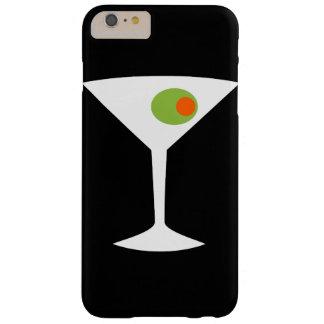 クラシックな映画マルティーニのiPhone 6のプラスの場合(黒) Barely There iPhone 6 Plus ケース