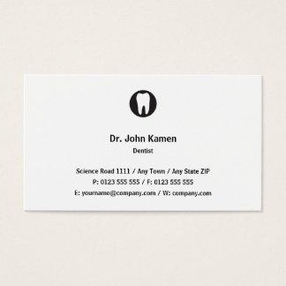 クラシックな歯科医|のクラシック 名刺