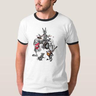クラシックな気違いのお茶会の信号器 Tシャツ