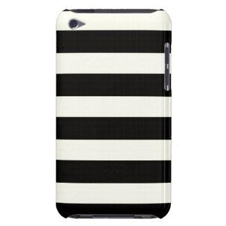クラシックな白黒ストライプ Case-Mate iPod TOUCH ケース