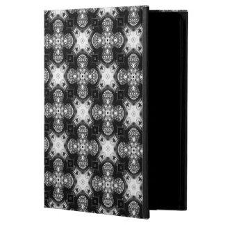 クラシックな白黒パターン(の模様が)あるなPowiscase iPad Airケース