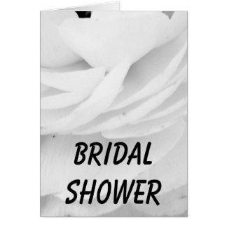 クラシックな白黒結婚式 カード