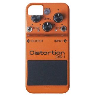 クラシックな石のオレンジゆがみのペダル iPhone 5 ベアリーゼアケース
