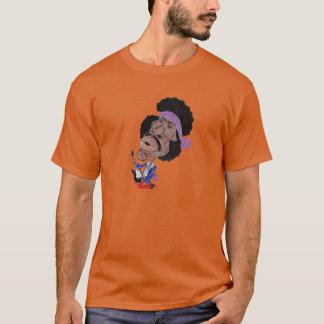 クラシックな石の60年代のおもしろいなCaicatureのTシャツ Tシャツ