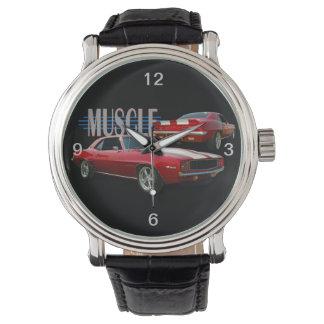 クラシックな筋肉 腕時計
