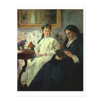 クラシックな絵画の郵便はがき ポストカード