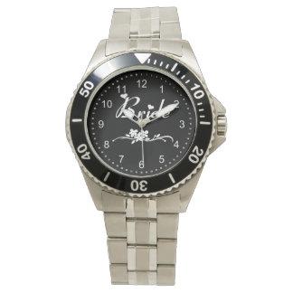 クラシックな花嫁 腕時計