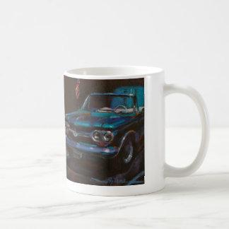 クラシックな車のマグ- Chevy Corvair コーヒーマグカップ
