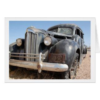 クラシックな車の芸術 カード