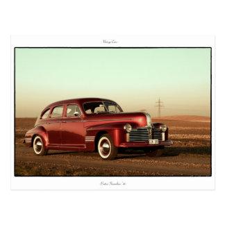 クラシックな車の郵便はがき: ポンティアクStreamliner 「41 ポストカード