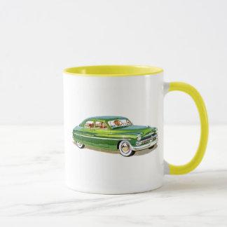 クラシックな車の1950年の水星のマグ マグカップ