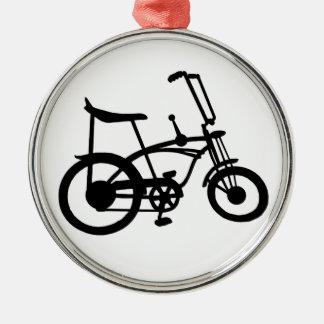 クラシックな60年代のバイクBICYLE SCHWINNのアカエイのバイク メタルオーナメント
