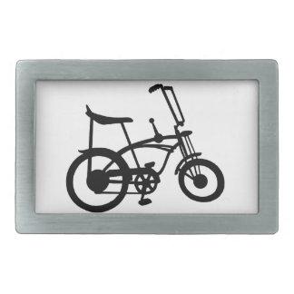 クラシックな60年代のバイクBICYLE SCHWINNのアカエイのバイク 長方形ベルトバックル