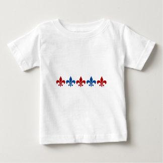 クラシックな(紋章の)フラ・ダ・リ ベビーTシャツ