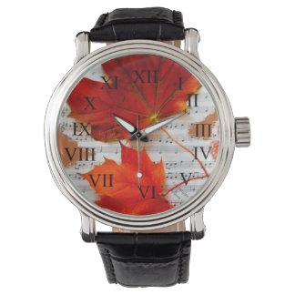 クラシックなAuntumn 腕時計