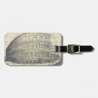 クラシックなColosseumの荷物のラベル ラゲッジタグ