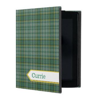 クラシックなCurrieのタータンチェック格子縞のiPadの場合 iPad ケース