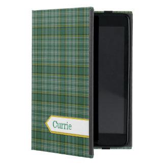 クラシックなCurrieのタータンチェック格子縞のiPad Miniケース iPad Mini ケース