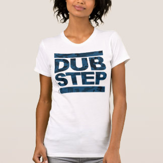 クラシックなDubstepの迷彩柄の正方形 Tシャツ