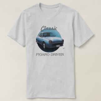 クラシックなFigaroの運転者のTシャツ-淡い色のな水 Tシャツ