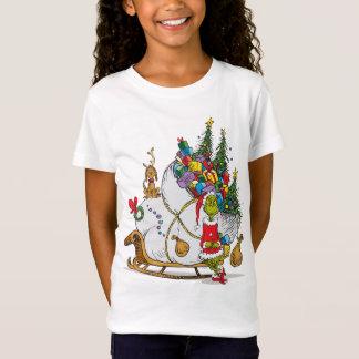 クラシックなGrinch |そりとGrinch及び最高 Tシャツ