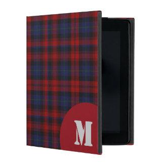 クラシックなMacLachlanのタータンチェック格子縞のiPadの場合 iPad ケース