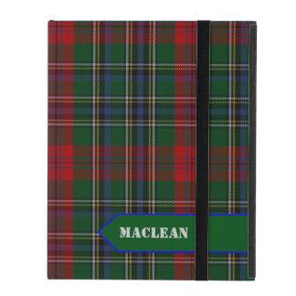 クラシックなMacLeanのタータンチェック格子縞のiPadの場合 iPad ケース