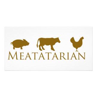 クラシックなMeatatarian カード
