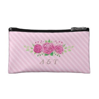 クラシックなRosinessの花嫁のモノグラムの化粧のバッグ コスメティックバッグ