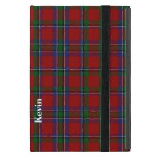 クラシックなSinclairのタータンチェック格子縞のiPad Miniケース iPad Mini ケース