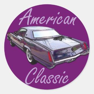 クラシックの1967年のキャデラックのアメリカのEldorado ラウンドシール