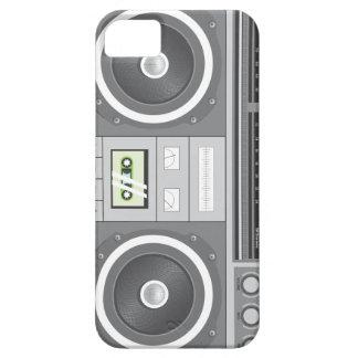 クラシックのboomboxの場合 iPhone SE/5/5s ケース