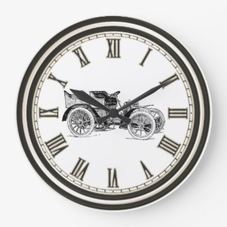 クラシックカーの総本店の装飾の時計 ラージ壁時計