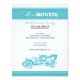 クラシックカー家族の移動発表(水) カード
