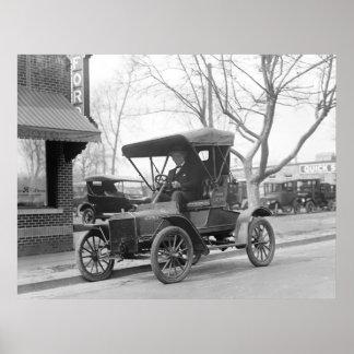 クラシックカー1925年 ポスター